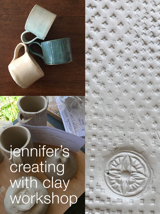 Creating with Clay: Ceramics with Jennifer Cheung  |  Mar 17