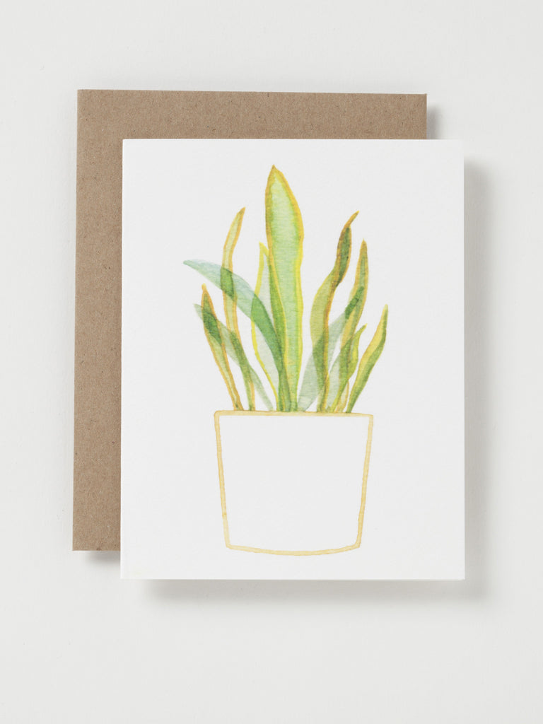 Plant Cards, set of 5