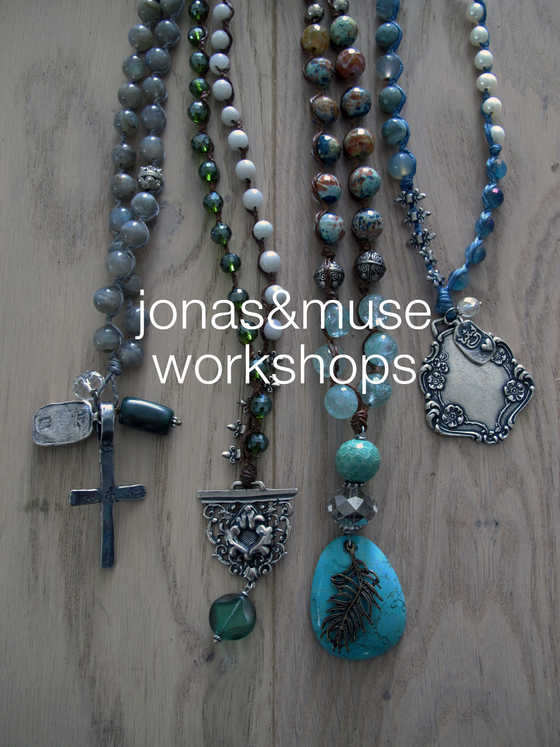 Jonas & Muse Beading and Knotting Jewelry Workshop |  Nov 10