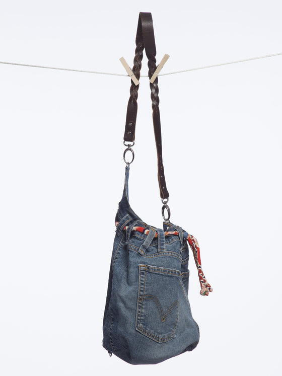 Recycled Denim Hand Bags