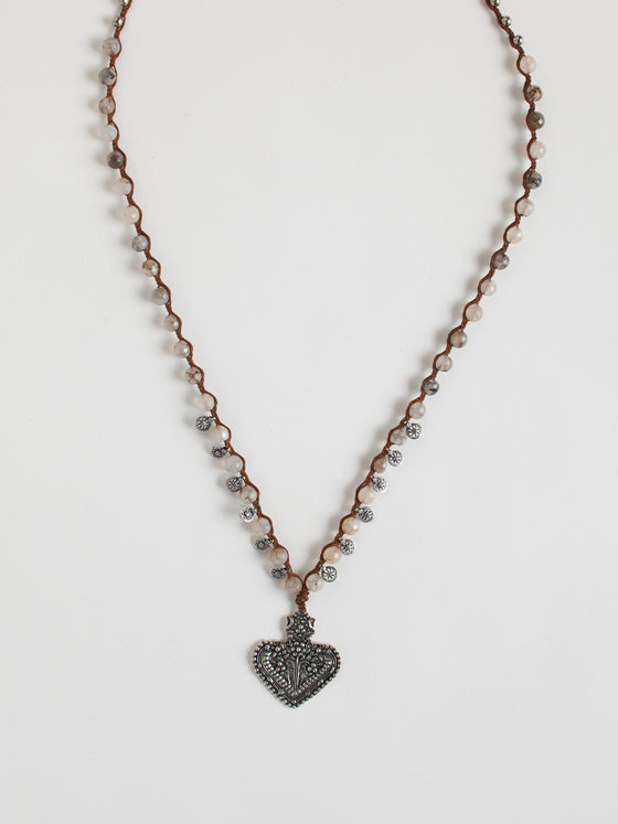 Heart Filagree Necklace