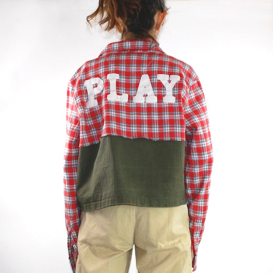 Play! Cropped Jacket, Unisex