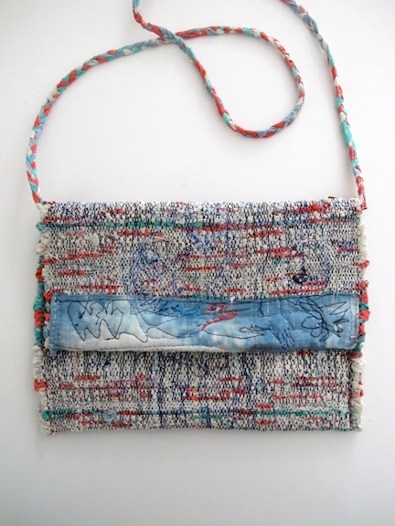 Handwoven and Sewn Talisman Bag #1