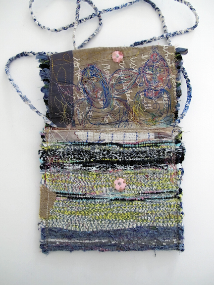 Handwoven and Sewn Talisman Bag #2