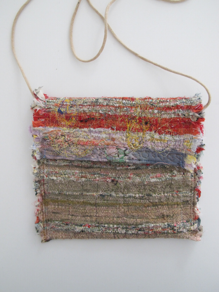 Handwoven and Sewn Talisman Bag #3