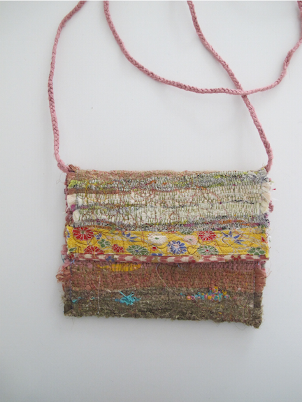 Handwoven and Sewn Talisman Bag #4