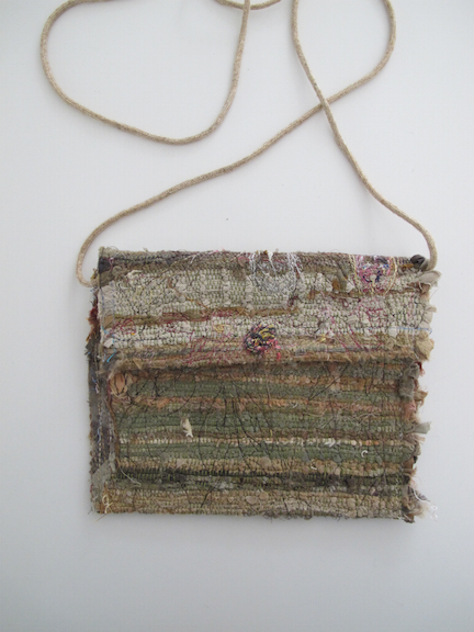 Handwoven and Sewn Talisman Bag #5
