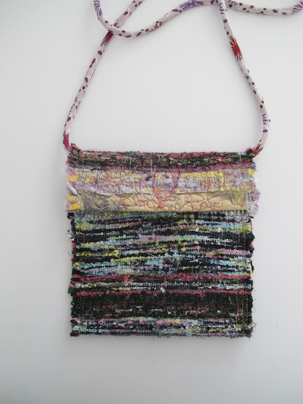 Handwoven and Sewn Talisman Bag #7