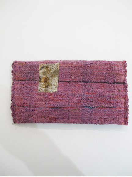 Handwoven and Sewn Talisman Bag #9