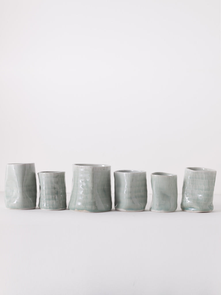 Celadon Drop Vessels