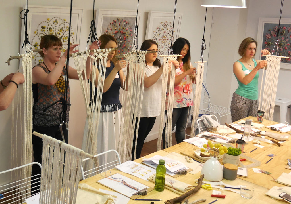 The Language of Knots: A Modern Macrame Workshop   | May 5