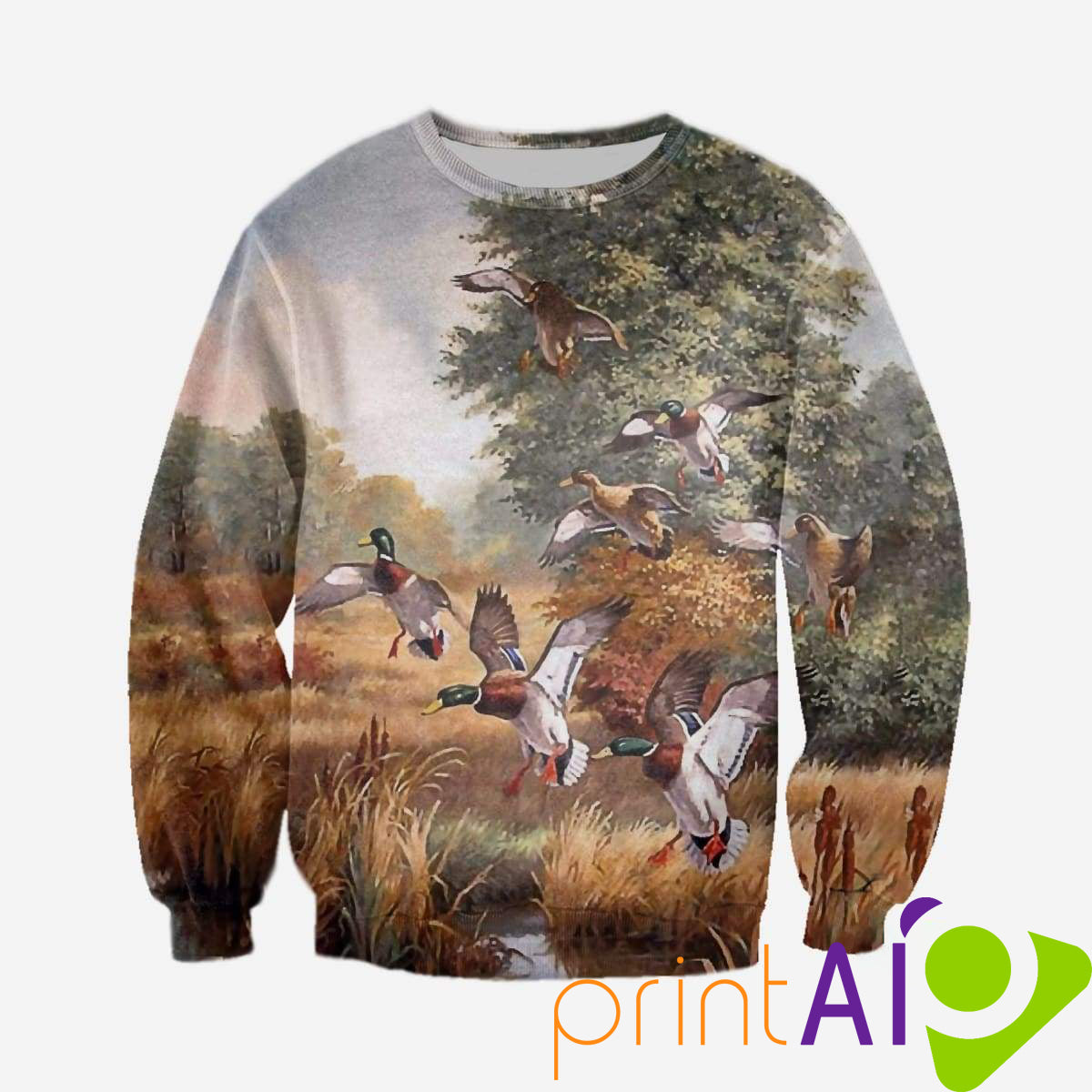 cab8ca8721b2 3D All Over Printed Duck hunting Clothes - Print AIO