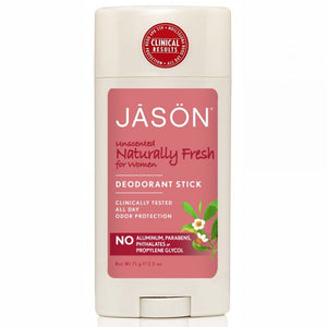 JĀSÖN Naturally Fresh Unscented Stick for Women 71g