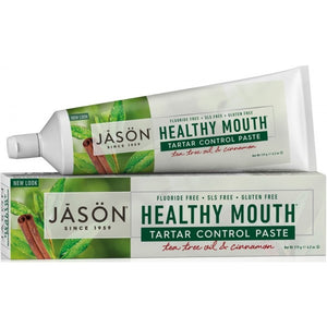 JĀSÖN Healthy Mouth® Tartar Control Toothpaste - Tea Tree & Cinnamon 119g