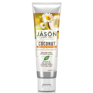 JĀSÖN Coconut Chamomile Soothing Toothpaste 119g