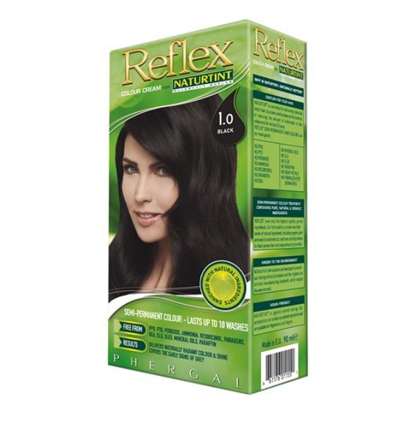 Naturtint Semi-Permanent Reflex Hair Colour 1.0 Black