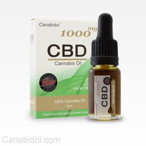 Canabidol™ CBD 1000mg Cannabis Oil Raw 10ml