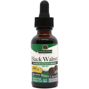 Nature's Answer Black Walnut Hulls Alcohol Free 30ml