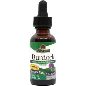Nature's Answer Burdock Root Alcohol Free 30ml