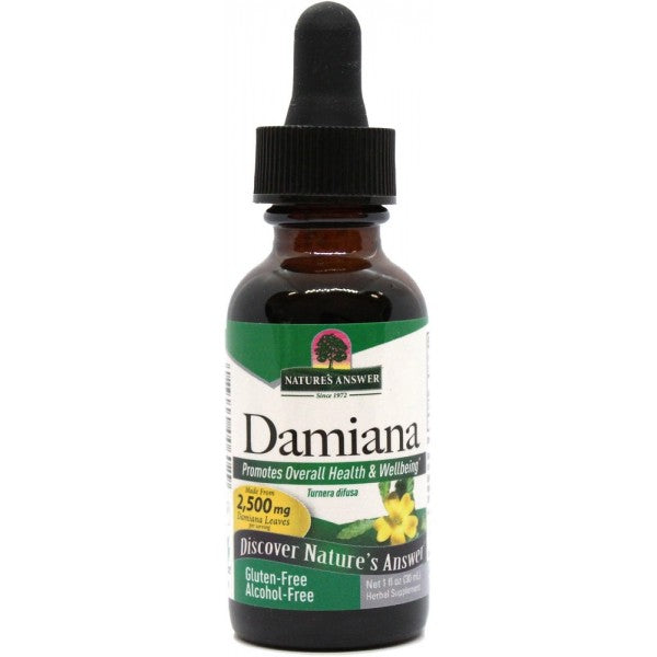Nature's Answer Damiana Leaf Alcohol Free 30ml