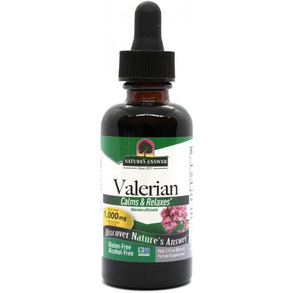 Nature's Answer Valerian Root Alcohol Free 60ml