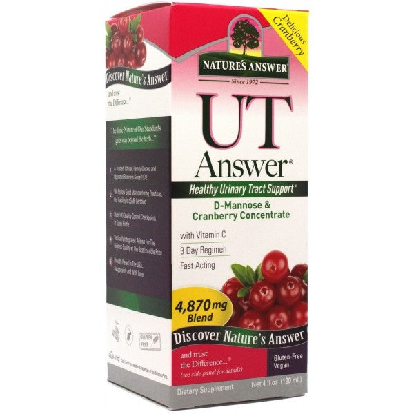 Nature's Answer UTI Ans D-Mannose & Cranberry 120ml