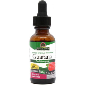 Nature's Answer Guarana Seed Low Alcohol 30ml