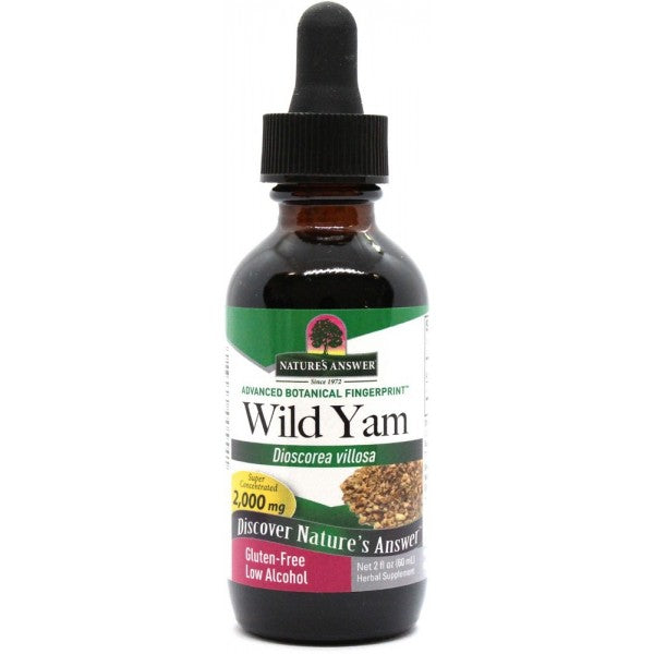 Nature's Answer Wild Yam Low Alcohol 60ml