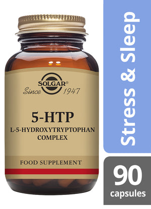 Solgar® 5-HTP (L-5-Hydroxytryptophan) Complex Vegetable Capsules - Pack of 90