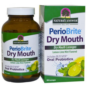 Nature's Answer Perio Brite Dry Mouth 100 lozenges