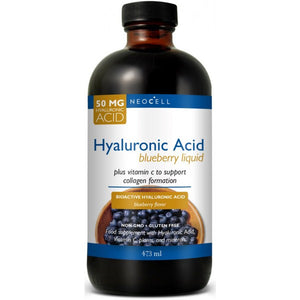 Neocell Hyaluronic Acid Blueberry Liquid 50mg 480ml