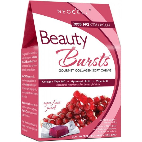 Neocell Beauty Burst - Super Fruit Punch 2,000mg 60 Chews