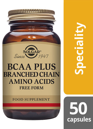 Solgar® BCAA Plus Vegetable Capsules - Pack of 50
