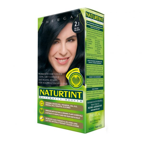 Naturtint Permanent Hair Colour 2.1 Blue-Black