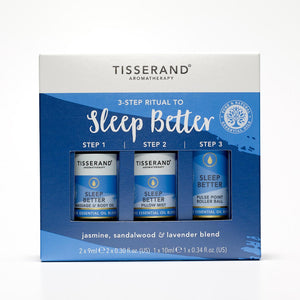 Tisserand 3 Step Ritual To Sleep Better Kit