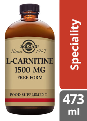 Solgar® L-Carnitine 1500 mg Liquid - 473 ml