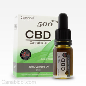 Canabidol™ CBD 500mg Cannabis Oil Raw 10ml