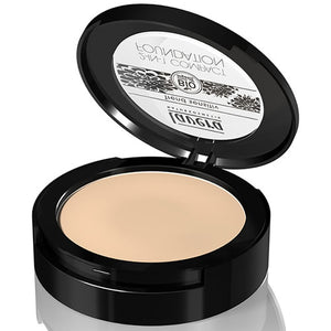 Lavera Organic Compact Foundation 2 in 1 - Ivory 01 - 10g