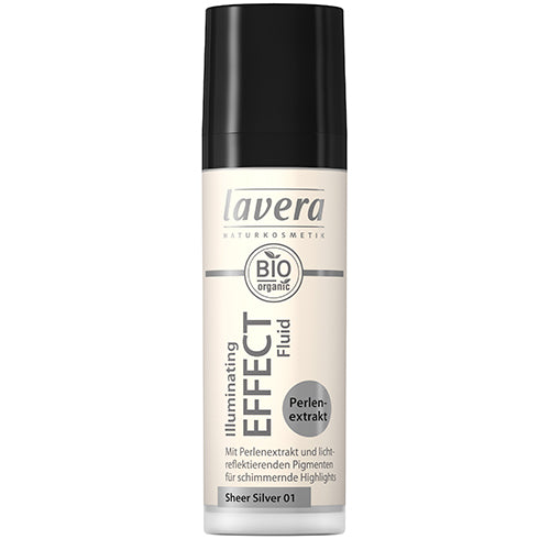 Lavera Illuminating Effect Fluid - Sheer Silver - 30ml