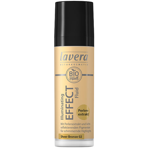 Lavera Illuminating Effect Fluid - Sheer Bronze - 30ml
