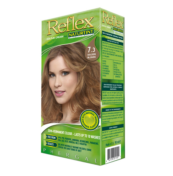 Naturtint Semi-Permanent Reflex Hair Colour 7.3 Golden Blonde