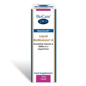 Biocare Nutrisorb® Liquid BioMulsion® A (5000iu) 10ml