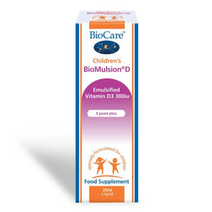 Biocare Children's BioMulsion® D (Liquid Vitamin D) 20ml