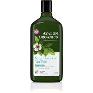 Avalon Organics Tea Tree Scalp Treatment Shampoo 325ml