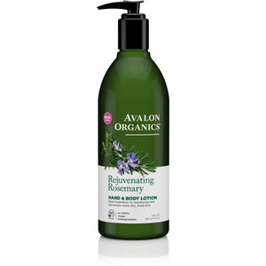 Avalon Organics Rosemary Hand and Body Lotion 340g