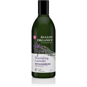 Avalon Organics Lavender Bath and Shower Gel 355ml