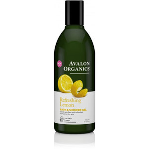 Avalon Organics Lemon Bath and Shower Gel 355ml