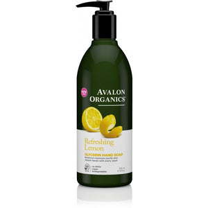 Avalon Organics Lemon Glycerin Hand Soap 355ml