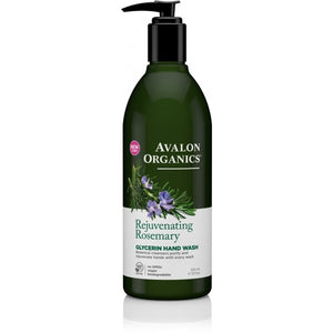 Avalon Organics Rosemary Glycerin Hand Soap 355ml