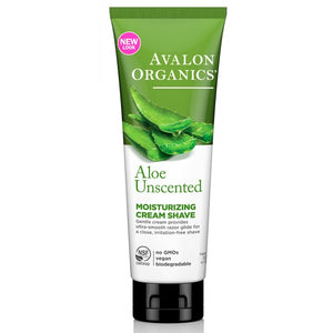 Avalon Organics Aloe Unscented Moisturizing Shave Cream 227g